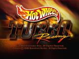 Hot Wheels: Turbo Racing Nintendo 64 Title screen.