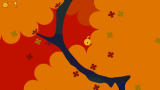 LocoRoco PSP The LocoRoco is exploring a great tree