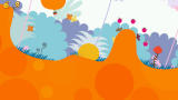 LocoRoco PSP Tilt the world with the shoulder buttons and your LocoRoco will roll