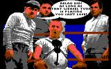 "The Three Stooges Commodore 64 Curly can't loose a fight if he hears ""Pop Goes the Weasel"""