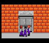 The Three Stooges NES The door to the hospital