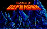 Revenge of Defender DOS title screen - MCGA/VGA