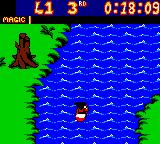 Mickey's Racing Adventure Game Boy Color Keep an eye out for white water rapids, they will act like a turbo boost