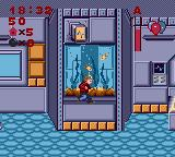 Home Alone Game Gear Futuristic house. You jump as you see fish. Logical reaction