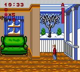 Home Alone Game Gear Is anyone home? It's snowing outside, damn it! I wanna cup of brandy, pronto!