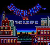 Spider-Man Game Gear Title screen