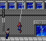 Spider-Man Game Gear Of course, you can hang on your spider web