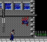 Spider-Man Game Gear You can also climb walls