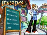 Diner Dash Windows Title Screen/Main Menu
