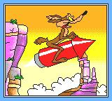 Desert Speedtrap starring Road Runner and Wile E. Coyote Game Gear Intro
