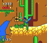 Desert Speedtrap starring Road Runner and Wile E. Coyote Game Gear Those indicators are surely helpful...