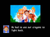 Rakugakids Nintendo 64 The gang, realizing their crayons have the same power, decide to fight back