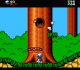 The Smurfs NES The game begins