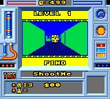 Faceball 2000 Game Gear Level objective