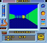 Faceball 2000 Game Gear Your enemies actually ask you to shoot them. S&M, anyone?