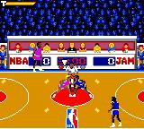 NBA Jam Game Gear Getting ready...