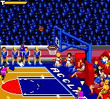 NBA Jam Game Gear It's a three-pointer!