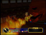 Mystical Ninja Starring Goemon Nintendo 64 Watch out for Congo's flaming breath!