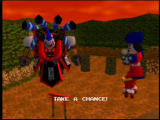 Mystical Ninja Starring Goemon Nintendo 64 The roller-skating Goemon Impact faces a... robot samurai.
