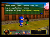 Mystical Ninja Starring Goemon Nintendo 64 The game's plot, summarised in a text box