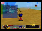 Mystical Ninja Starring Goemon Nintendo 64 You can view your map while running around the large overworld