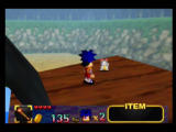 Mystical Ninja Starring Goemon Nintendo 64 Collect four silver lucky cats to increase your health meter