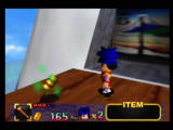Mystical Ninja Starring Goemon Nintendo 64 Normal shish-kabobs restore one heart, these gold ones restore all your health