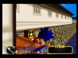 Mystical Ninja Starring Goemon Nintendo 64 Goemon uses the chain pipe to cross this gap