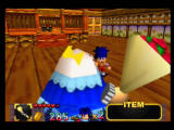 Mystical Ninja Starring Goemon Nintendo 64 Yes, enemies include large women with bunches of roses.