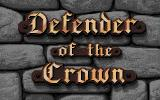 Defender of the Crown Atari ST The title screen.