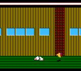 Karateka NES I was killed by the warlord's bird