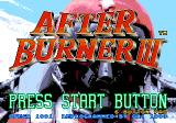 After Burner III SEGA CD Title Screen