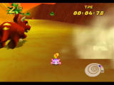Diddy Kong Racing Nintendo 64 Tricky, like all bosses, cheats and takes the lead from the start