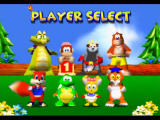 Diddy Kong Racing Nintendo 64 The initial eight - Krunch, Diddy, Bumper, Banjo, Conker, Tiptup, Pipsy, and Timber