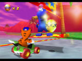 Diddy Kong Racing Nintendo 64 Completing a race in first place earns you a Gold Balloon