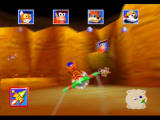 Diddy Kong Racing Nintendo 64 Fire Mountain is a capture the flag-type game, the first to hatch three eggs wins