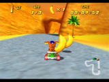 Diddy Kong Racing Nintendo 64 Bananas gradually increase your max speed and acceleration
