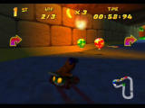 Diddy Kong Racing Nintendo 64 Diddy Kong Racing features nice lighting effects such as this tunnel