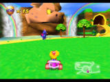Diddy Kong Racing Nintendo 64 Earning a Wizpig amulet piece slowly brings the head to life