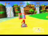 Diddy Kong Racing Nintendo 64 Taj Challenges require you to beat Taj in the overworld by following these flags