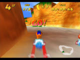 Diddy Kong Racing Nintendo 64 Pressing A at the starting line at the right time will result in a helpful boost