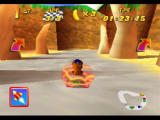 Diddy Kong Racing Nintendo 64 This shield will protect you from enemy attacks for a short while