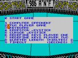 Xeno ZX Spectrum Main menu