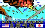 Battlehawks 1942 DOS Title Shot... awesome!