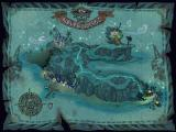 Escape from Monkey Island Windows The map of Melee Island.
