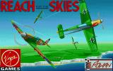 Reach for the Skies Amiga Title screen