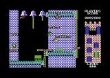 Hunchback II: Quasimodo's Revenge Commodore 64 Next level, avoiding getting ground to mince in the clockworks (and note progression in the map, now in the lower right)