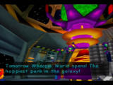 Rocket: Robot on Wheels Nintendo 64 Whoopie World is going to open tomorrow...