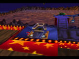 Rocket: Robot on Wheels Nintendo 64 After placing all four screws in, the Rollercoaster console will appear...