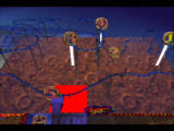Rocket: Robot on Wheels Nintendo 64 ...allowing the player to create and ride on their very own Rollercoaster!